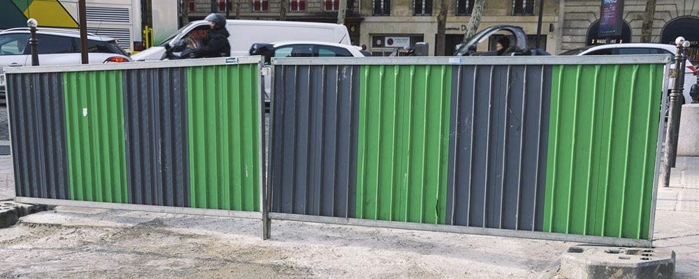 Protection de chantiers et sécurité des personnes : l'importance de l'utilisation des barrières de chantier