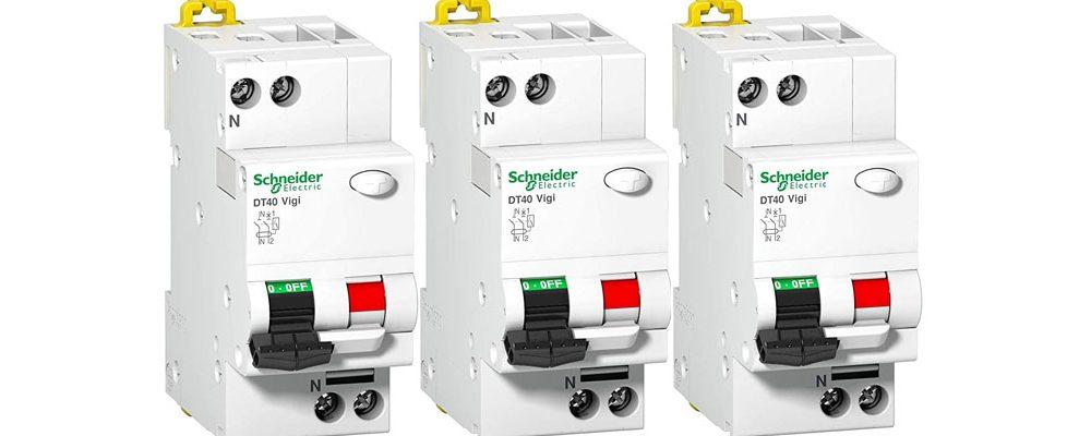 Acheter des disjoncteurs dt40 de marque Schneinder en ligne